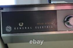Vintage General Electric Solid State Portable Record Player Works Grecondition