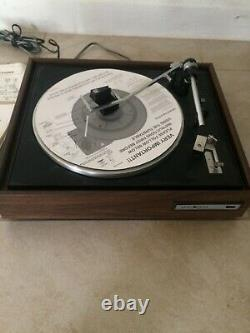 Vintage General Electric Stereo Record Player Platine Rd704