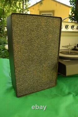 Vintage General Electric Trimline Stéréo 500 Vinyl Record Player