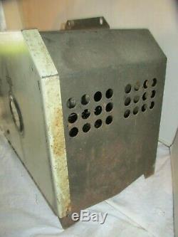 Vintage General Electric Tungar 6v Chargeur De Batterie Modèle 6rb33b1 Lqqk