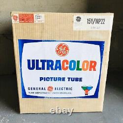 Vintage General Electric Ultra Couleur Image Modèle Tube 15y / Mp22 New Old Stock