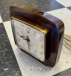 Vintage Général Réveil Catalogue Electrical Brun Art Déco