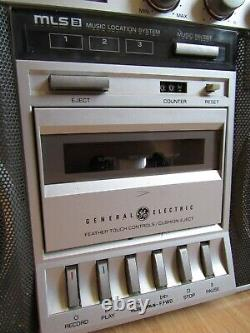 Vintage Ghetto Boombox Boombox Large Ge General Electric 3-5258a Cassette Radio
