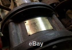 Vintage Industriel Ge General Electric Moteur À Induction Grain MILL Usine 40hz