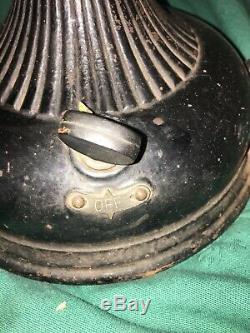 Vintage Pancake General Motors Lame En Laiton Ventilateur