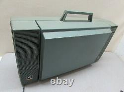 Vintage Portable Stereo Record Player General Electric Wildcat