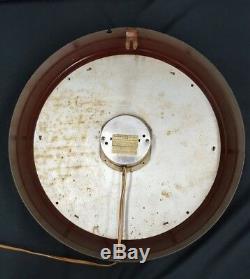 Vintage & Rare Boisson General Electric Dr. Pepper Bon Pour La Vie Horloge Murale Ronde