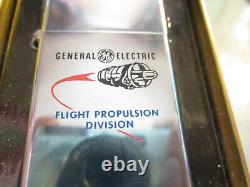 Vintage Rare New W Boîte 1962 General Electric Flight Propulsion Divis Slim Zippo