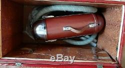 Vintage Red General Electric Aspirateur En Cas En Peluche Avec Des Pièces Jointes