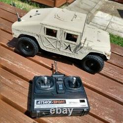 Vintage Tamiya Am General M1025 Hummer Humvee Ta-02, Nouveau Bâtiment À Partir De 1999 + Radio