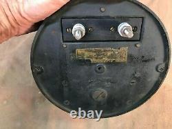 Vintage Testé Art Déco Thomson Ammeter General Electric Schenectady New York