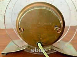 Vintage'pink Rapture Electric Clock Art Déco 1941 General Electric