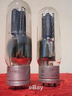 Vt4c Tube General Electric Ge = Rca 211 Vintage Amplificateur Stéréo Transmitting
