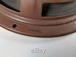 Vtg 1950 General Electric Ge A1-401 Double Coaxial Alnico Woofer Tweeter Haut-parleur