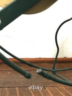 Vtg Antique 12 Ge Fan Ne Fonctionne Pas Pour Repaire Laiton General Electric Emblem