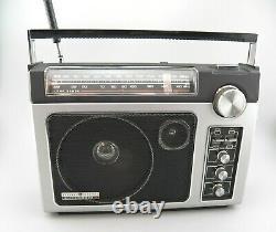 Vtg Ge General Electric Superadio II 2 Long Range Am/fm Super Radio Model 7-2885
