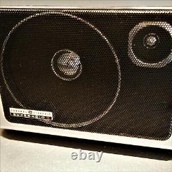 Vtg Ge General Electric Superadio II 2 Longue Portée Am/fm Super Radio Modèle 7-2885