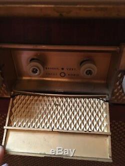 Vtg General Electric Console Télévision Circa 1951
