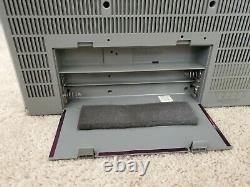 Vtg General Electric Ge 3-5259a Le Blockbuster Des Années 1980 Boombox