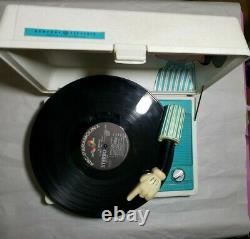 Walt Disney Mickey Mouse Record Player Vintage 70s Ge General Electric Works