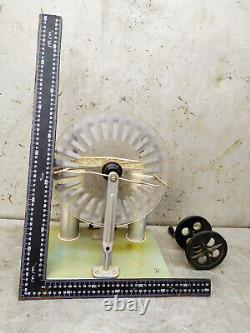 Wimshurst Machine Lab Générateur Statique D'électricité / Urss Vintage