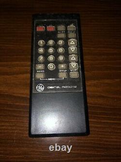 Works Vintage Ge General Electric Console Tv 25 Pouces Color Television Mint