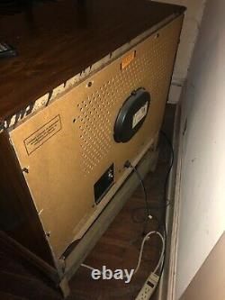 Œuvres Vintage Ge General Electric Console Tv 25 Pouces Color Television Mint
